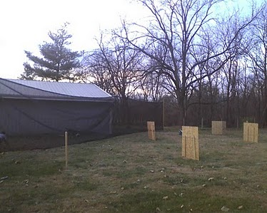 Build a Paintball Field