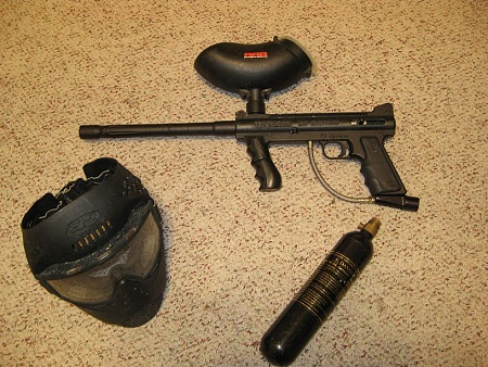 Custom Paintball Guns