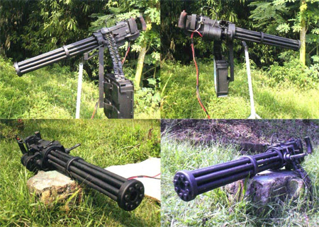 Gatling Paintball Guns